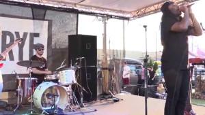 Jalin Roze performing at RYE last September.